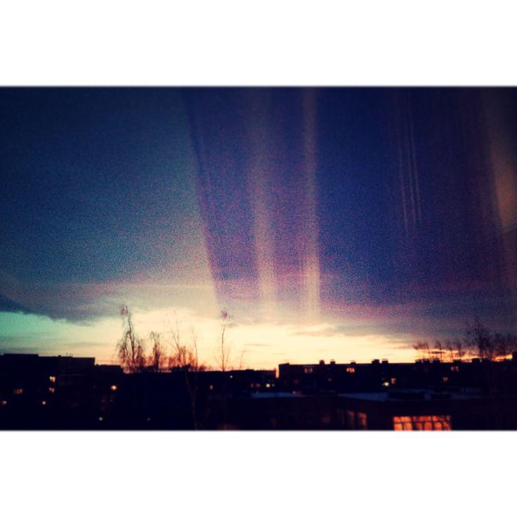 Sunset. January, 2014.