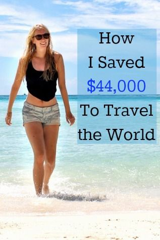 How I Saved $44,000 to Travel the World // Heart My Backpack