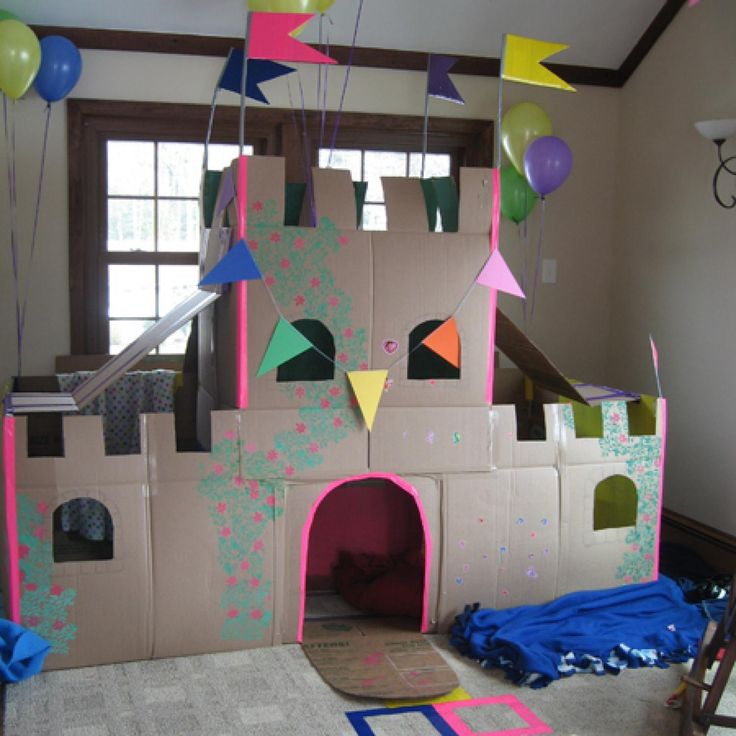 Thinking Outside the Box: 10 Ingenious Cardboard Forts - parenting.com