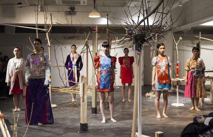 「SINA SUIEN」2015-'16 A/W COLLECTION http://fashionjp.net/soen/fashion/feature/sina150325/