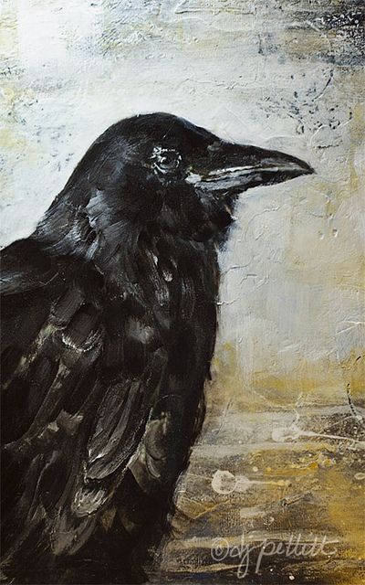 crow painting | Flickr - Photo Sharing!