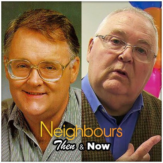 Harold Bishop | 10 Classic Neighbours Characters - Then And Now