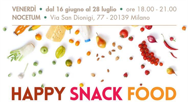 Corso di snack food dal 16 Giugno al 28 Luglio