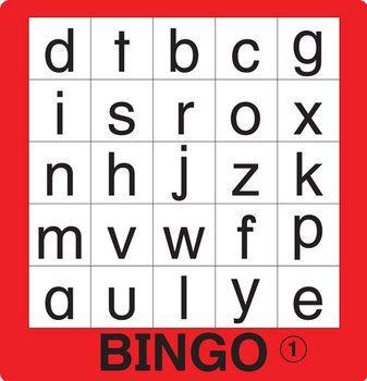 ESL Games-ABC Bingo 2