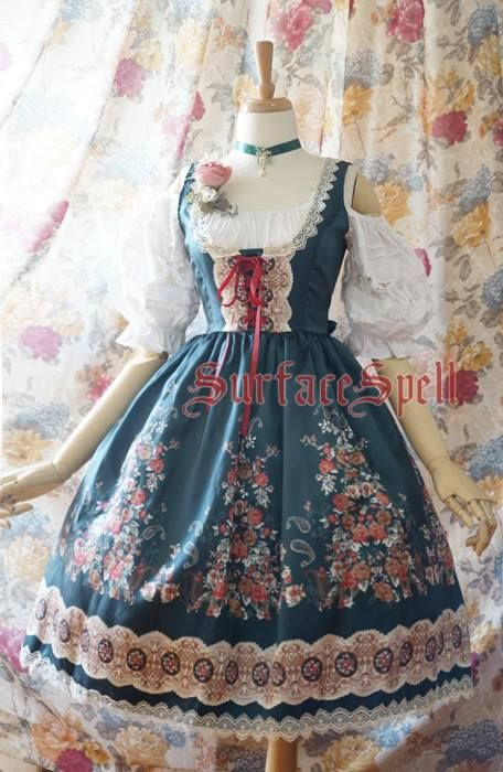 Reminder: [-★-Surface spell ~AlpenRose~ Series-★-] Preorder will END in about 7 hours later >>> http://www.my-lolita-dress.com/newly-added-lolita-items-this-week/surface-spell-alpenrose-series