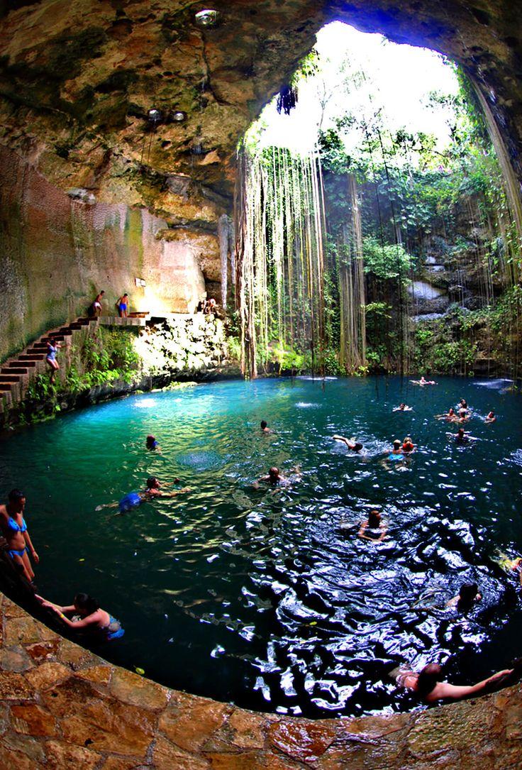 Ik Kil cenote Travel Guide 2017