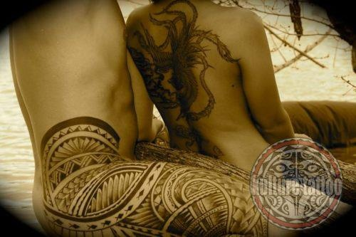 His and hers tattoo | Tattoos | Pinterest