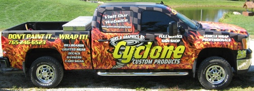 Cyclone Custom Products is your solution for signs & graphics.