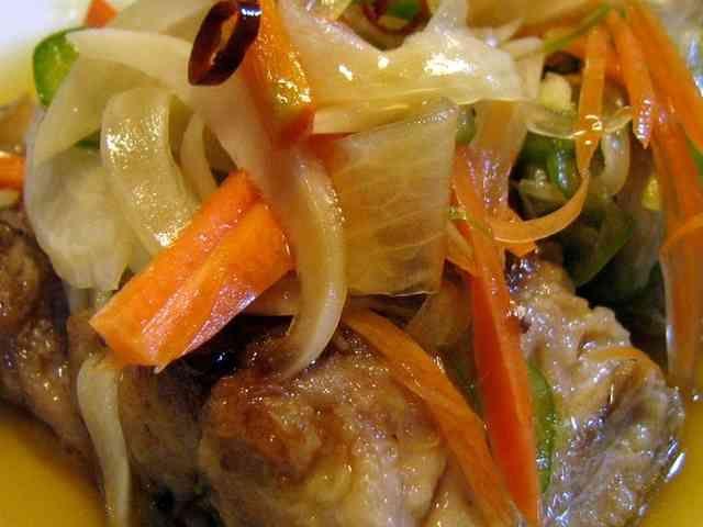 野菜もたっぷり、鯖の焼き浸し(南蛮漬け)の画像