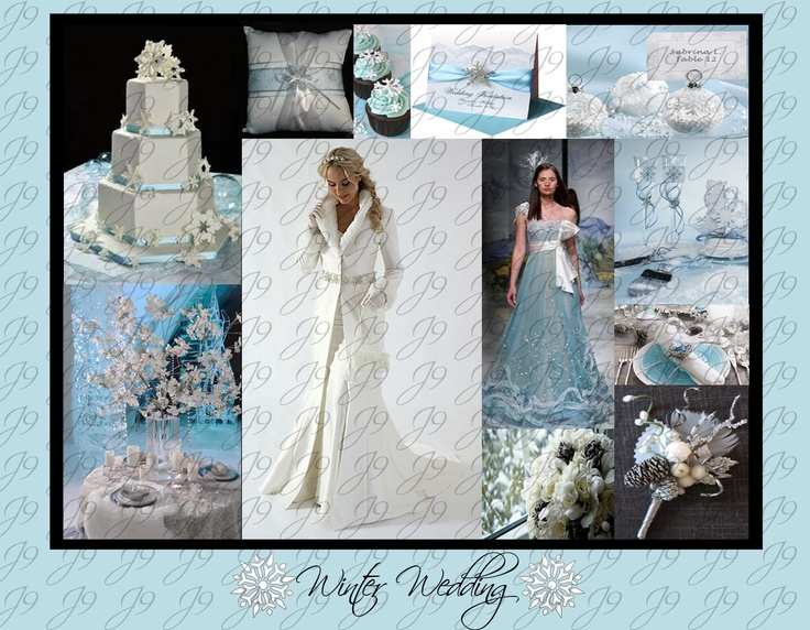 Winter Wedding Inspiration #Winter #Wedding