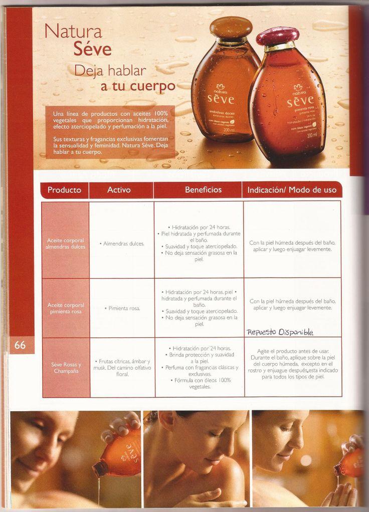 """""""Séve."""" En: Manual de Consultoría Natura - 2012 (Natura Cosméticos Oficial: http://www.natura.com.co/blog/)"""