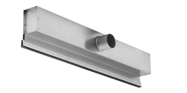 Ceiling air diffuser / linear INDUL Kiefer GmbH Luft- und Klimatechnik