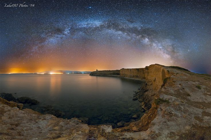 Torre Scal'e Sali Pano Milkyway by Luka180 S. on 500px