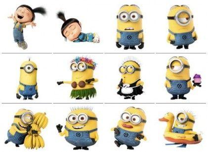 Die besten 25 Minions emoticons Ideen auf Pinterest  Smiley