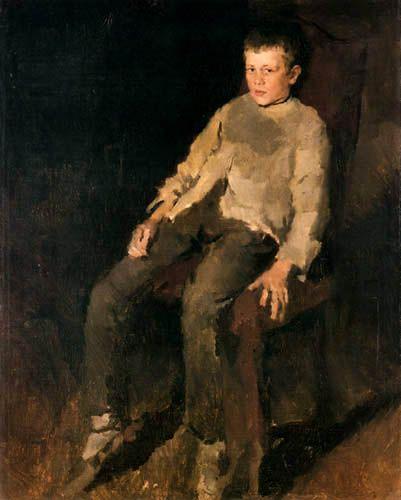 Wilhelm Leibl - Mozo