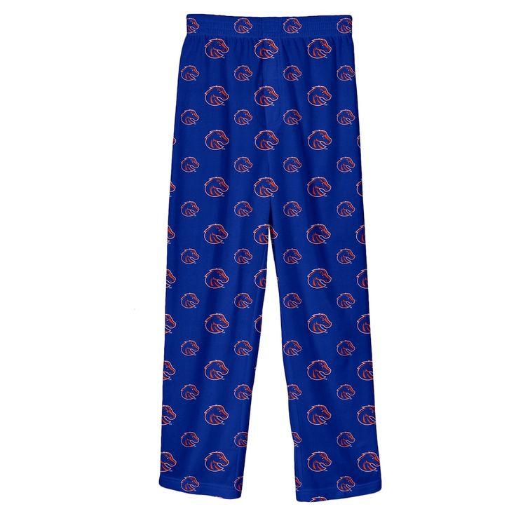 Boys 8-20 Boise State Broncos Team Logo Lounge Pants, Size: L 14-16, Blue Other