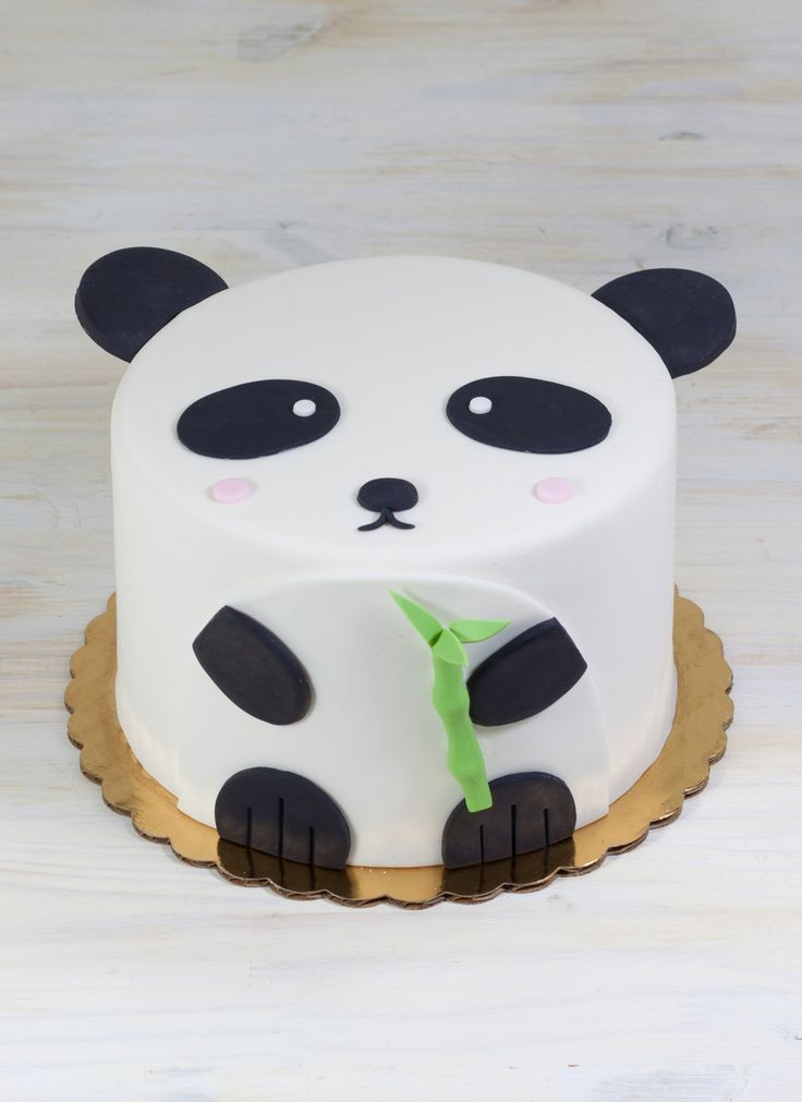 Penny the Panda Cake | Whipped Bakeshop