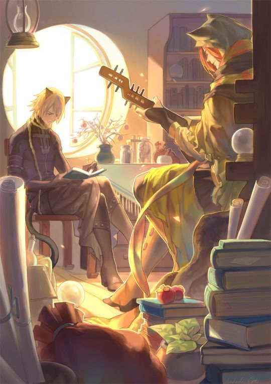Characters: Leaks & Shui Game: Lamento