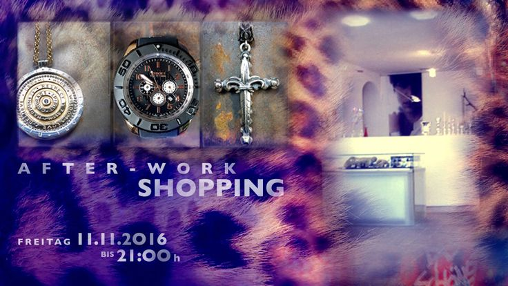 1. AFTER-WORK-SHOPPING ► FREITAG 11.11.2O16 ► 18:OO - 21:OO h  #afterworkshopping #shopping #shoppingextralang #einkaufen #geniessen #entspannen #happypeople #opendoors #shoppingevent #schmuck #uhren #trauringe #trends #burghausen #stadtplatz #accessoires #schmucktrends #trendschmuck #schmuckliebe #schmucktrends #jewelry #kaufdichglücklich #jewelrymakestheoutfit #coolbrands #shoppingheaven #staytuned #jewelrystyles #trendwelle #ONLINESHOP ≫≫≫ www.schmuck-reichenberger.de ❤️