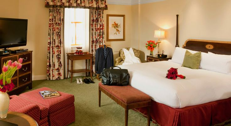 The Hermitage Hotel in Nashville - This is one of my favorite hotels. The beds are the BEST, most comfortable EVER!