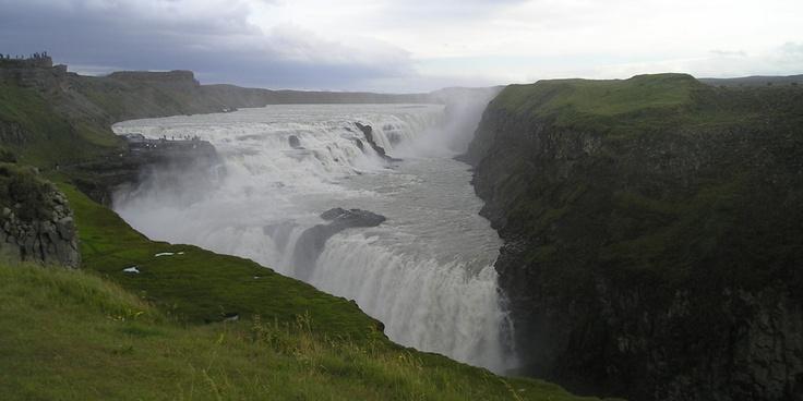 Gullfoss, Islands største vandfald