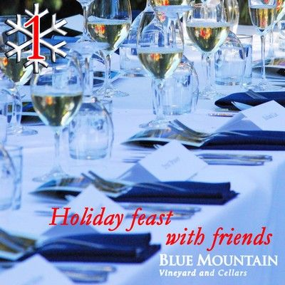 Day 1: Blue Mountain 2013 Pinot Gris   Price: $20.90  ***SPECIAL OFFER! - Order a 12 bottle case of our 2013 Pinot Gris on Monday, December 1st and receive FREE shipping in British Columbia!!  USE Promo code: PGRISFREESHIP