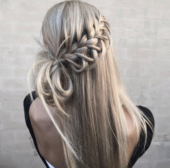 40 Super Pretty Summer Braids for 2017 – #Braids #messy #Pretty #Summer #super