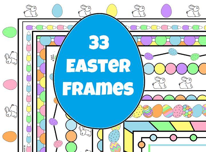 Microsoft clip art easter eggs