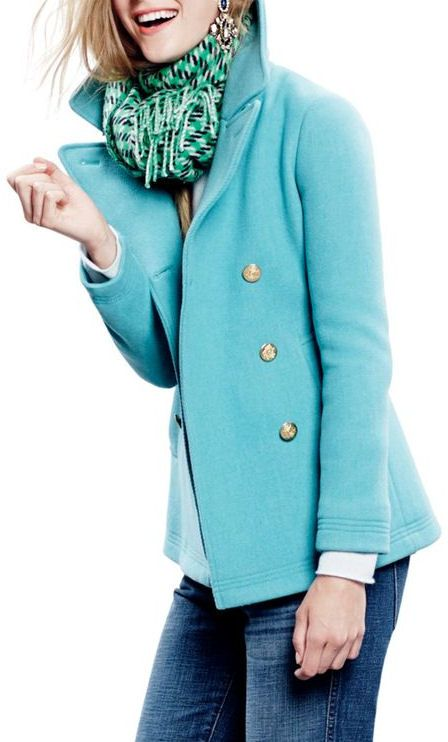 Mint Blazer Jacket ♥ Love the Color!