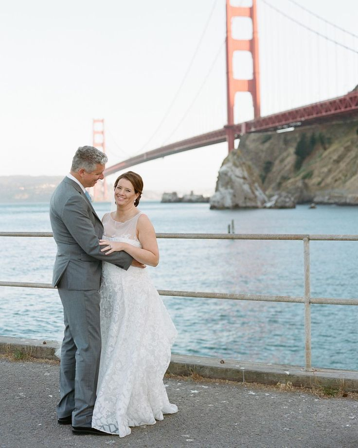 Getting some sneak peeks from @carrie_patterson was the ultimate wedding gift as we left for our honeymoon! The Bay Area weather gods also gave us a crystal clear afternoon. #bridge #goldengatebridge