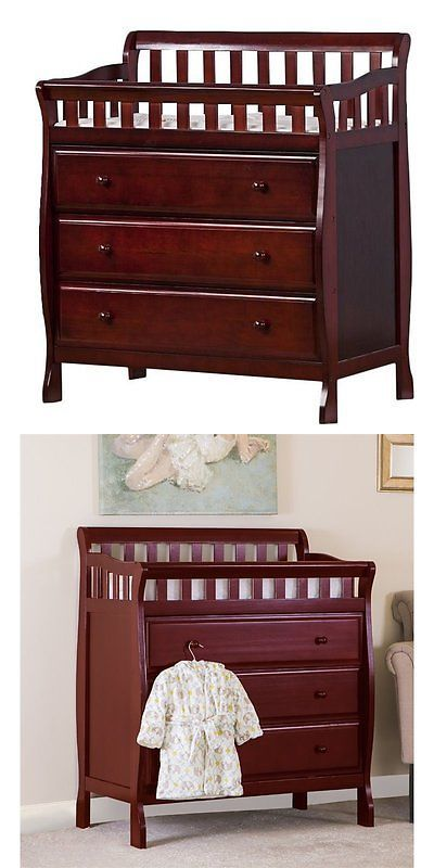 Changing Tables 20424 Dream On Me Marcus Table And Dresser Cherry Baby In It Now Only 192 58 Ebay