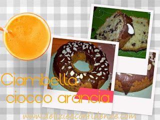 Delizie & Confidenze: Ciambella ciocco-arancia http://www.delizieeconfidenze.com/2017/01/ciambella-ciocco-arancia.html