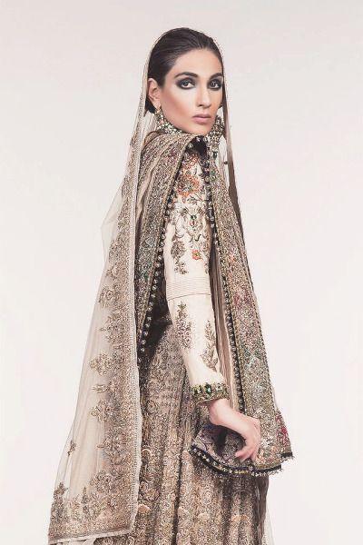 Designer: Fahad Hussayn Photography/Hair/Makeup: Maram and Aabroo Salon and Studio Model: Fatima Ijaz