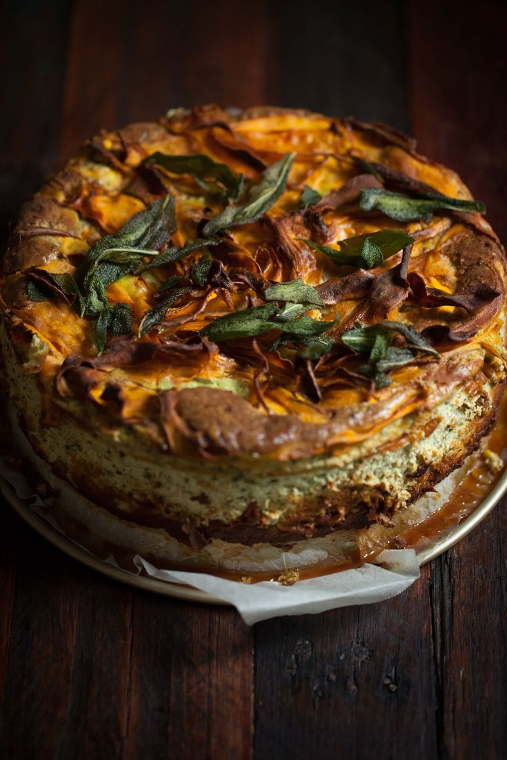 Sweet Potato, Greens + Ricotta Tart : The Healthy Chef – Teresa Cutter