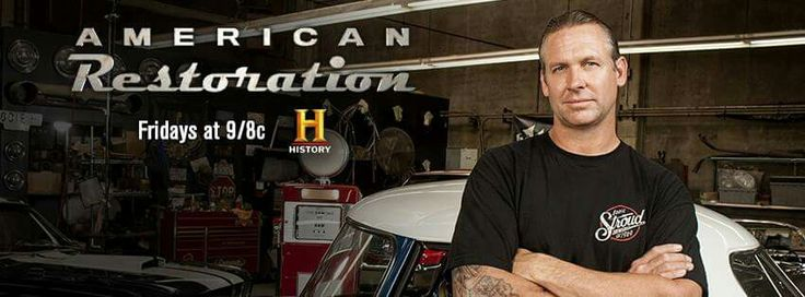 "Set Your #DVR Now!:)   TONIGHT my Pal and #HotRod #Builder Bodie Stroud and the Bodie Stroud Industries Crew are Featured on the New Season of ""American Restoration"" on the History Channel!:)  Excited to see what Bodie and his Crew have in store for Us Tonight!:)   Also, make sure to #Follow #BodieStroud and/or #BodieStroudIndustries here on FB, for the Latest News from #BSIndustries!:)  Thanks Everyone!:)"