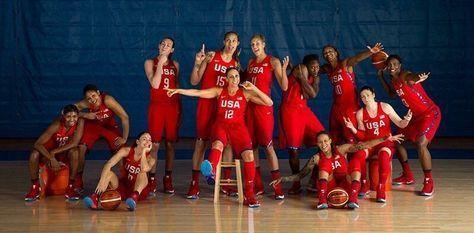 Team USA women's basketball team 2016