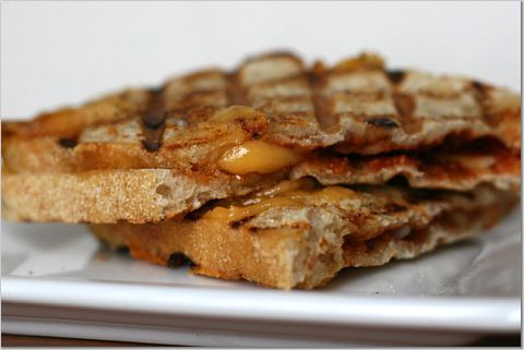 Spiced-Up Grilled Cheese | Entrees and Appetizers and more | Pinterest