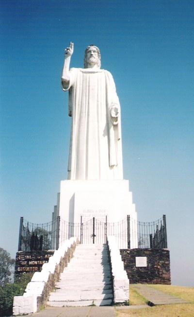 El Cristo Bendicente of Sierra San Javier. Tucuman, ARGENTINA,