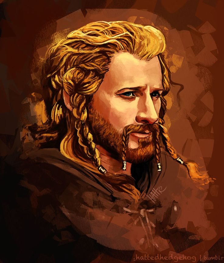 Loyalty, Honor and a Willing Heart — linane-art:   hattedhedgehog:   Heir of Erebor,...