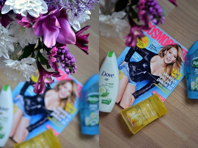 Letní výbava – moje oblíbené sprchové gely #Avon #Balea #Body Shop #Cosmobloggers #Cosmopolitan #Dove #I love... #Palmolive #Radox #sprcha #sprchový gel #yves rocher