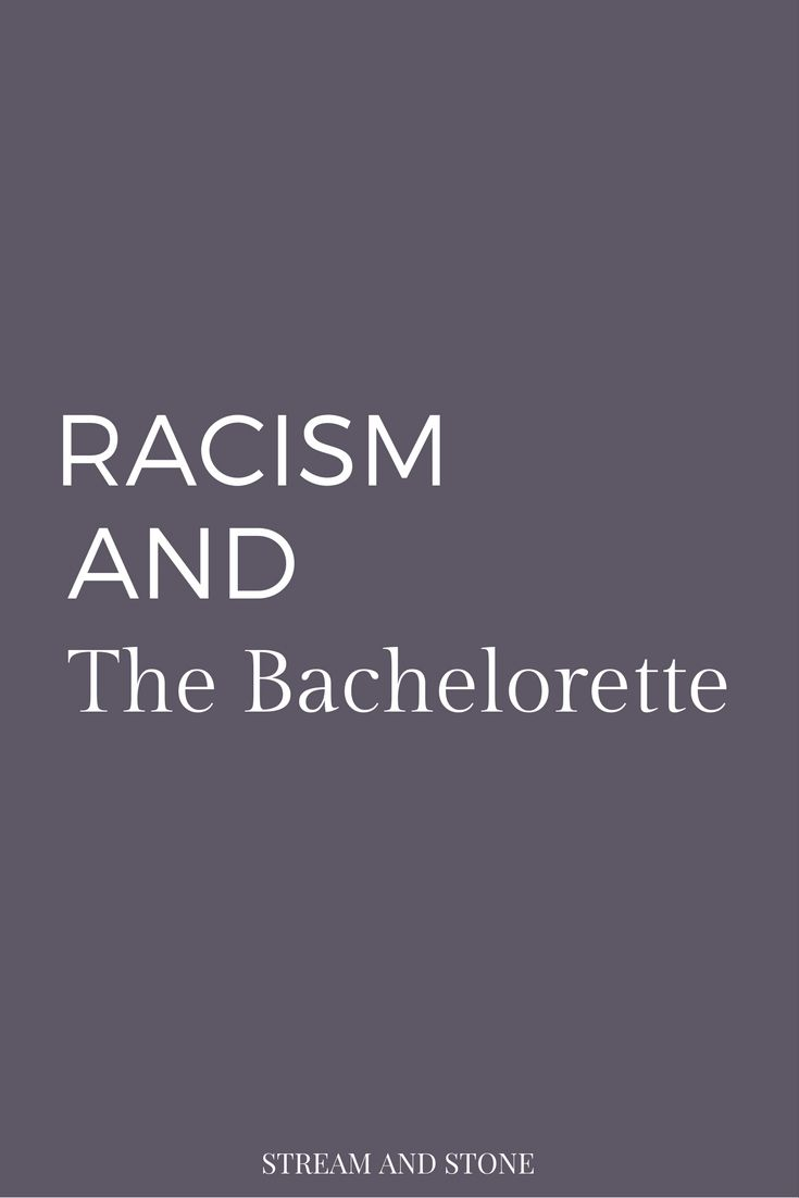 Racism and The Bachelorette. Click through to read more on media literacy, feminism, sexism, equality...