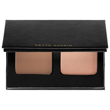 Shop Kevyn Aucoin's The Contour Duo On The Go at Sephora. This essential contouring set gives your face a flawless definition and highlight.