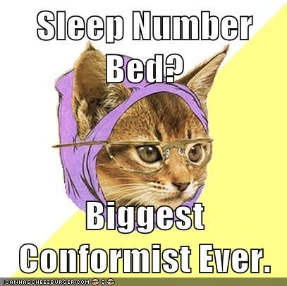 I'm a conformist...I have a Sleep Number bed!  #Sleepnumber #Contest