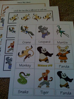 kung fu panda printable