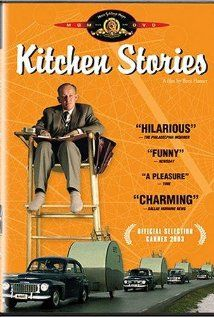 Kitchen Stories (2003): A scientific observer's job of observing an old cantakerous single man's kitchen habits is complicated by his growing friendship with him.