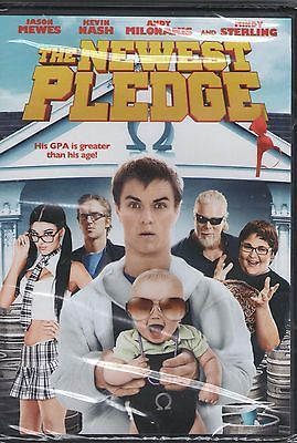 THE NEWEST PLEDGE new dvd JASON MEWES KEVIN NASH MINDY STERLING ANDY MILONAKIS