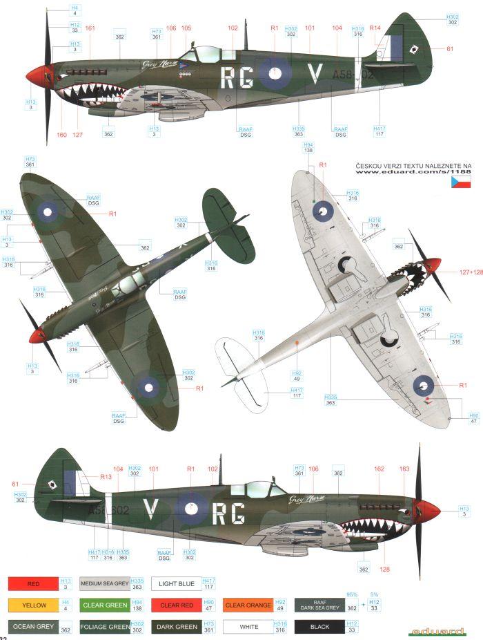 RAAF spitfire
