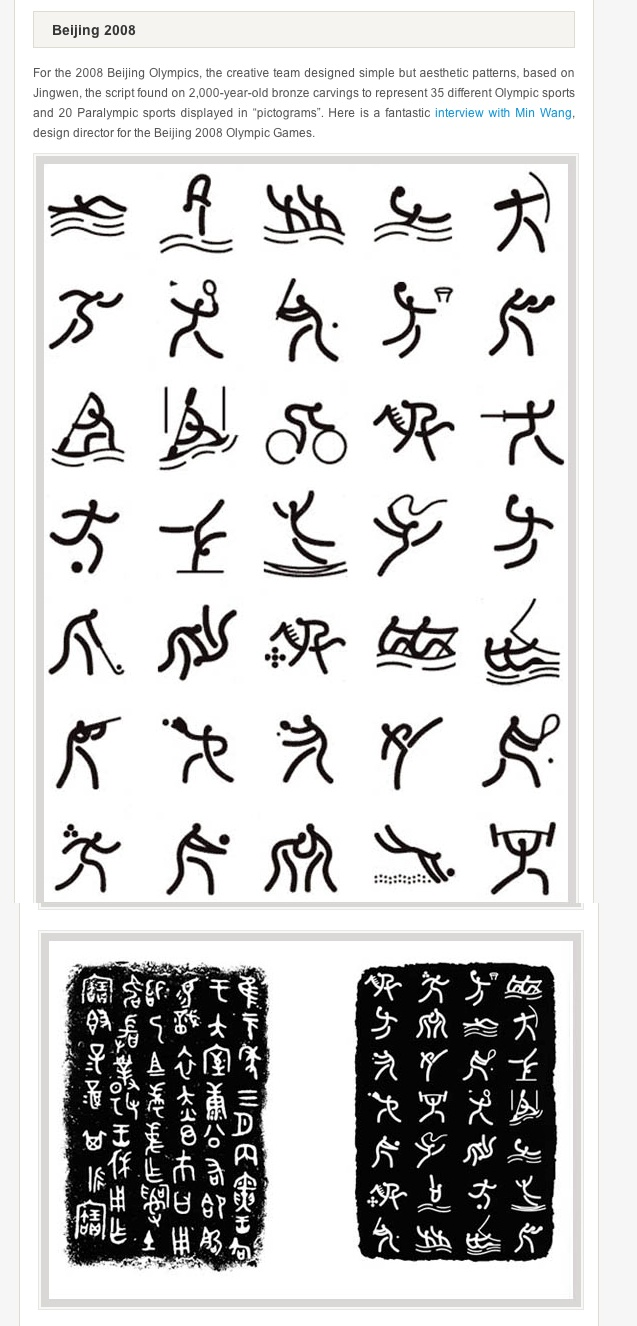 18 best pictogram icons images on pinterest olympic games for the 2008 beijing olympics the creative team designed simple but aesthetic patterns based biocorpaavc Choice Image