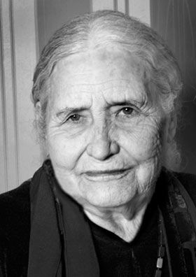 """Doris Lessing - Nobel Prize in Literature 2007 - """"the epicist of the female experience, who with scepticism, fire and visionary power has subjected a divided civilisation to scrutiny."""""""