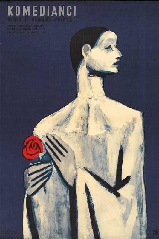"""Polish poster for """"Les Enfants du Paradis"""" M Carné"""